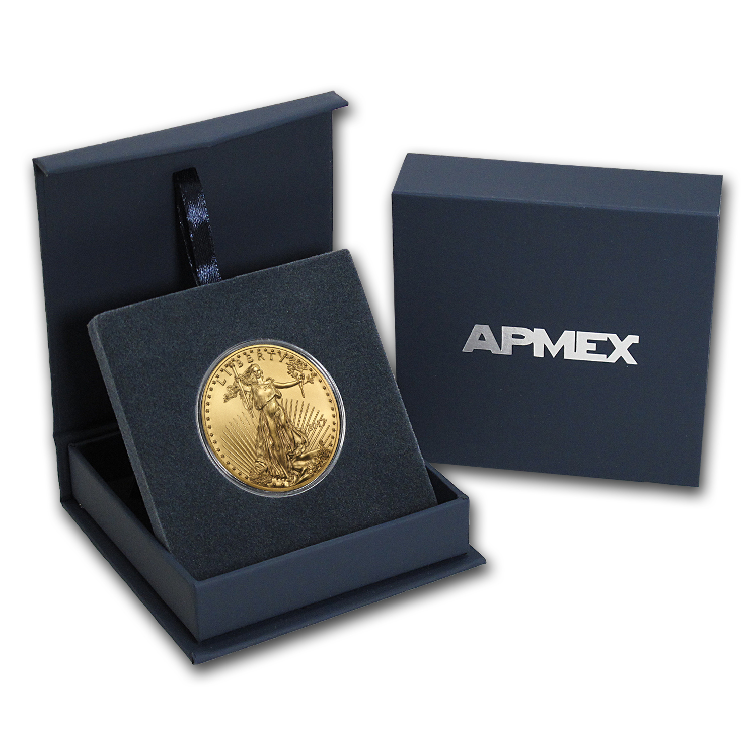 2017 1 oz Gold American Eagle BU (w/APMEX Gift Box)